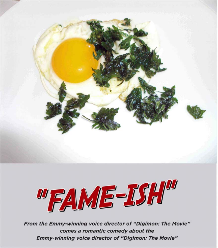 Food Breakfast-for-Dinner-&-A-Movie!-Sunnyside-Egg-with-crispy-Parsley-and- Fame-ish
