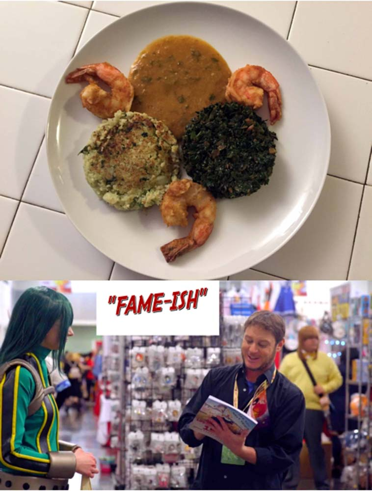 Food Dinner-&-A-Movie!-Coconut-Shrimp,-and- Fame-ish!
