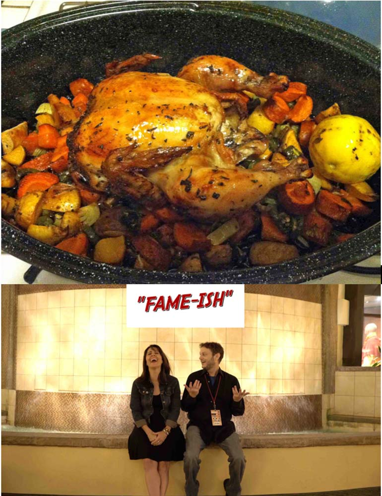Food Dinner-&-A-Movie!-Engagement-Chicken,-and- Fame-ish!