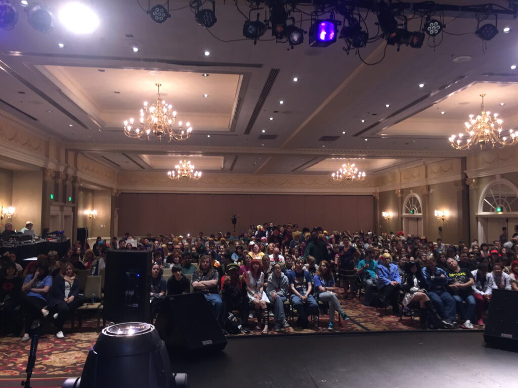 Voice Actors view at MTAC in 2015