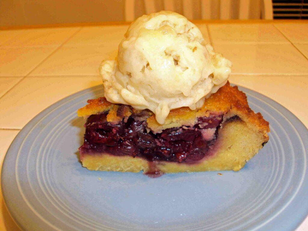 Paleo Cherry Pie a la Mode