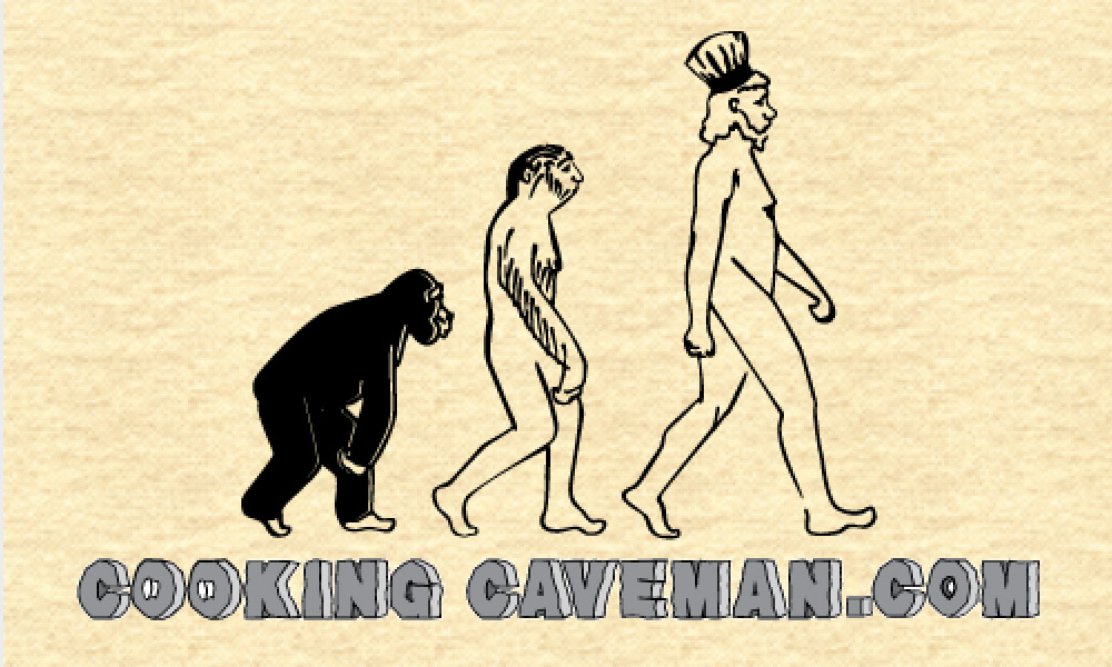 cooking caveman logo